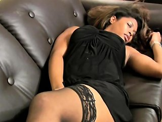 Full Video Of Busty Black Shemale Jerking Off Anaconda Cock