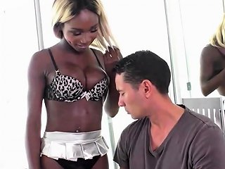 Blonde Ebony Shemale Fucks White Cock Drtuber