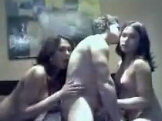 Horny Homemade Shemale Clip With Threesome Scenes