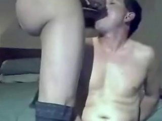 Busty Ladyboy Gets Her Dick Sucked And Ridden By Her Bf