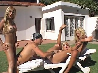 Amazing Pornstar In Exotic Shemale Blonde Shemale Porn Movie