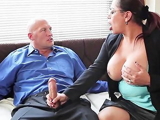 My Transexual Boss Scene 1